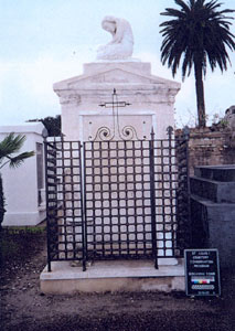 Bergamini Tomb after restoration, front view